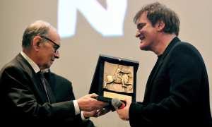 Ennio Morricone e Quentin Tarantino | ©  Tiziana Fabi/GettyImages