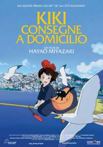 Il poster italiano di Kiki - Consegne a domicilio