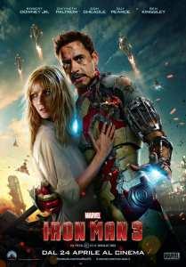 Gwyneth Paltrow e Robert Downey Jr. nel nuovo poster di Iron Man 3