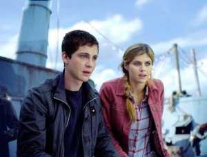 Logan Lerman e Alexandra Daddario