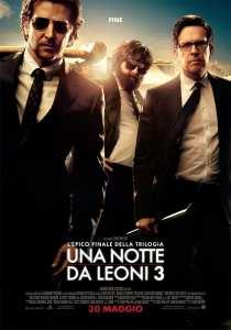 La locandina italiana di Una notte da leoni 3