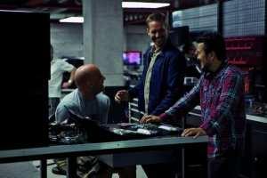 Una foto dal set del film