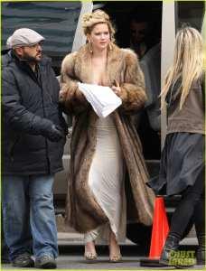 "Jennifer Lawrence ""impellicciata"""