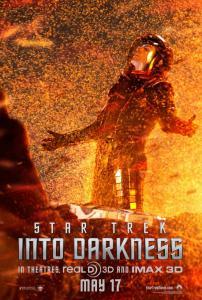 Il nuovo character poster di Into Darkness - Star Trek, dedicato al dottor Spock