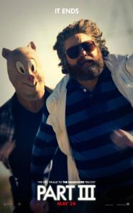 Zach Galifianakis nel character poster di Una notte da leoni 3