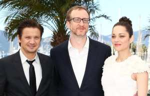 Jeremy Renner, James Gray e Marion Cotillard | © Andreas Rentz
