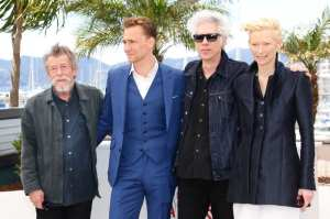 John Hurt, Tom Hiddleston, Jim Jarmusch e Tilda Swinton | © Vittorio Zunino/Getty Images