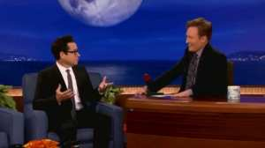 J.J. Abrams parla con Conan O'Brien