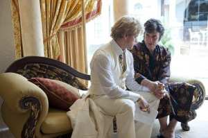 Matt Damon e Michael Douglas in Behind the Candelabra