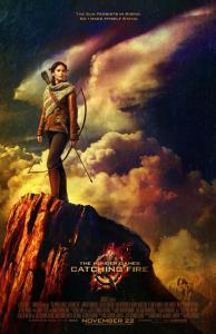 Jennifer Lawrence nel nuovo poster di Hunger Games: La ragazza di fuoco