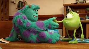 Il primo incontro tra Mike e Sulley