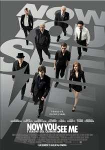 Il poster italiano di Now You See Me - I maghi del crimine