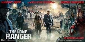 Il cast al completo nel nuovo banner di The Lone Ranger