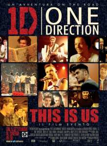 One Direction: This Is Us - poster italiano