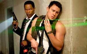 Jamie Foxx e Channing Tatum in White House Down
