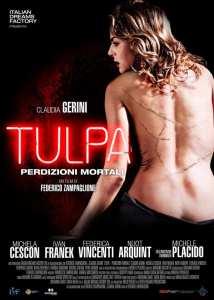 Claudia Gerini nel poster di Tulpa