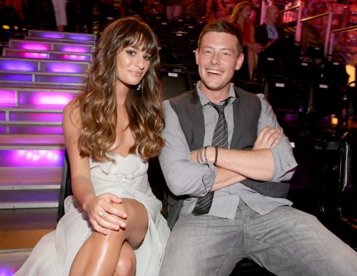 Lea Michele e Cory Monteith   © Christopher Polk / Getty Images