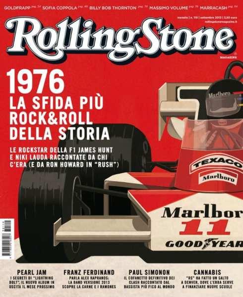 La cover di Rolling Stone dedicata a Rush