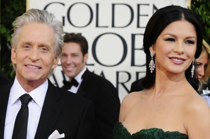 Michael Douglas e Catherine Zeta-Jones | ©  ROBYN BECK / Getty Images