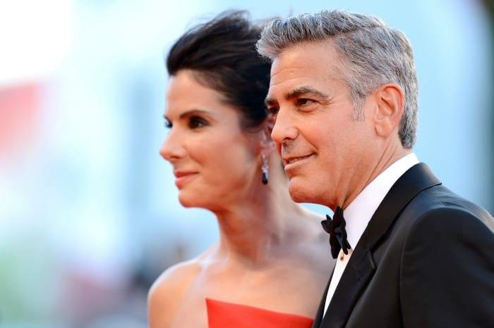 Sandra Bullock e George Clooney   © Ian Gavan / Getty Images
