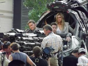 "Il set di ""Transformers: Age of Extinction"""