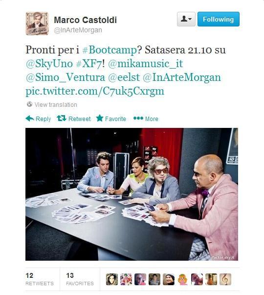 morgan X Factor 7: live blogging della terza serata