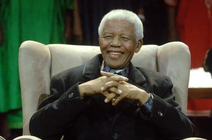 Nelson Mandela | © LIONEL HEALING / Getty Images