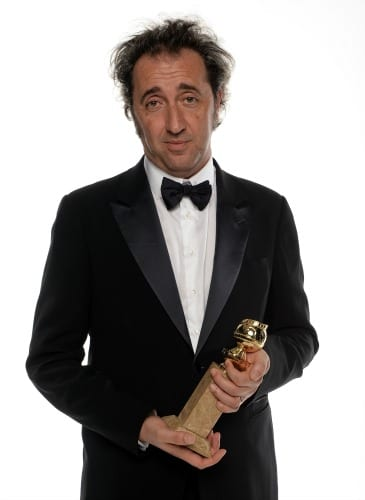 Paolo Sorrentino ai Golden Globes | © Dimitrios Kambouris / Getty Images