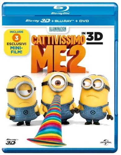 Il Blu-Ray 3D di Cattivissimo me 2