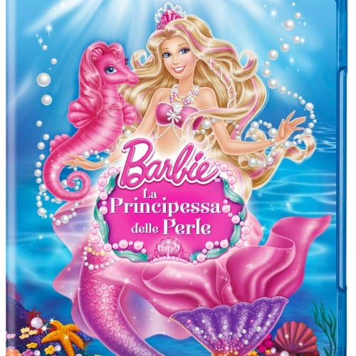 Barbie principessa delle perle in Blu-Ray