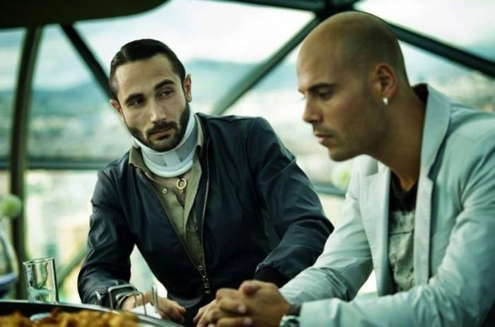 Il boss Salvatore Conte parla con Ciro