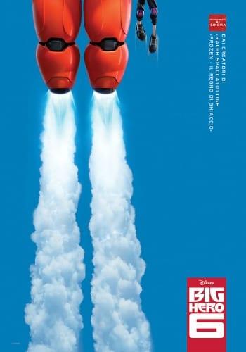 Big Hero 6 - La locandina