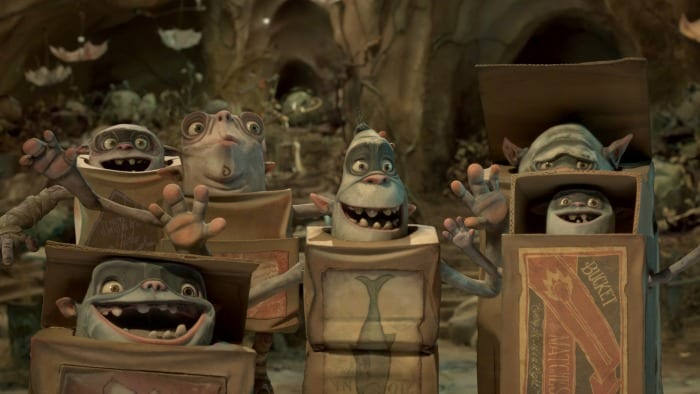 I personaggi di Boxtrolls - Le Scatole Magiche
