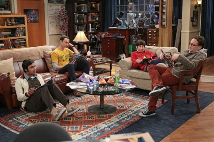 The big Bang Theory: The Hook-up Reverberation