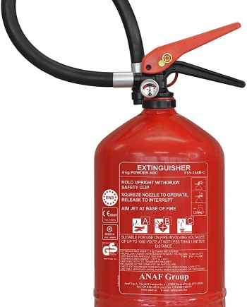 ANAF FIRE EXTINGUISHER 6KG- ABC DRY POWDER