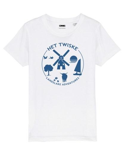 Organic T-shirt with Twiske print