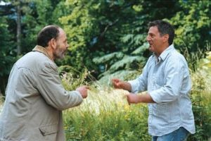 Dialogue avec mon jardinier