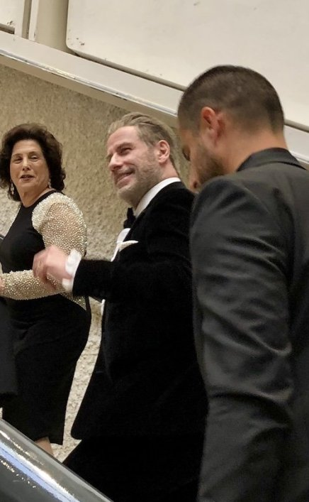 John Travolta Cannes 2018