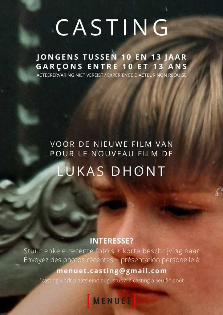 Casting pour le nouveau film de Lukas Dhont