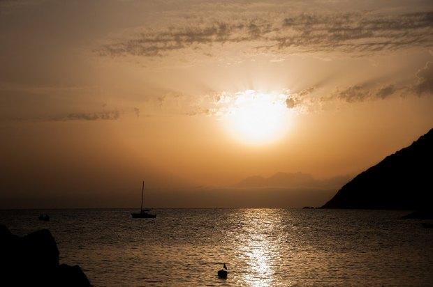 Coucher de soleil Framura