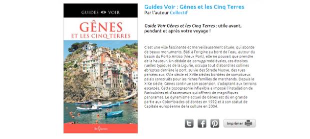 Guide de voyage Cinque Terre