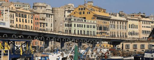 Arriver à Gênes Cinque Terre