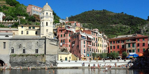 Village centre Cinque Terre