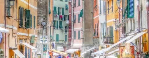Rue Pietonne Cinque Terre