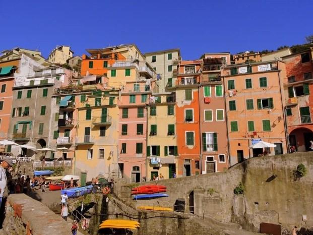 Maisons colorées Village Cinque Terre