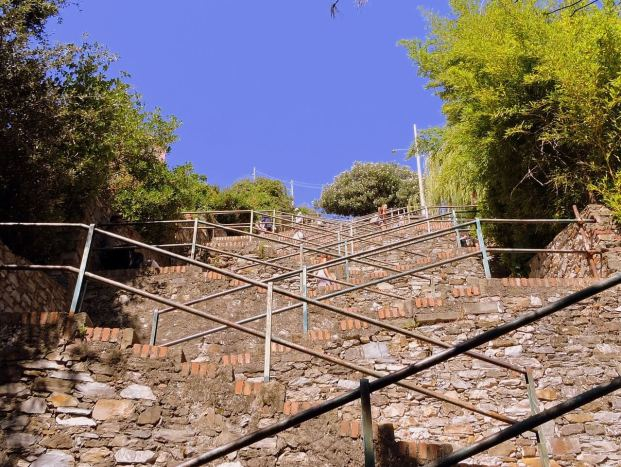 Escalier de Corniglia