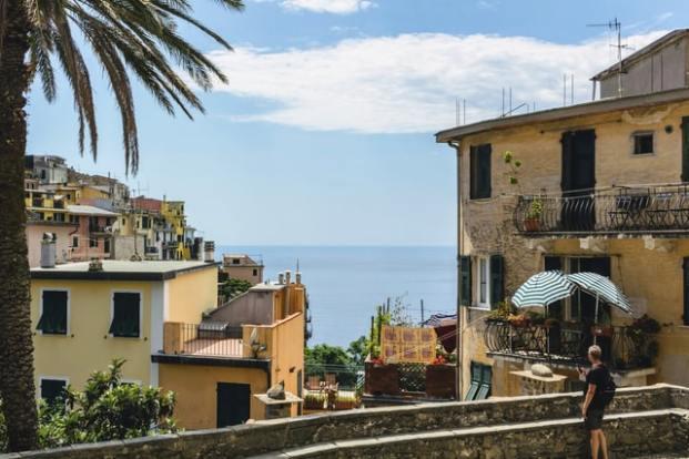 Dans le village de Riomaggiore