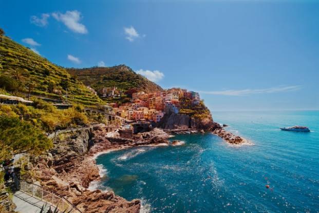 Paysage Parc National des Cinque Terre