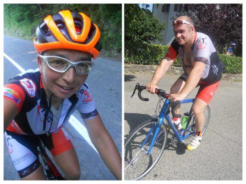 """Io e Mirko """"Facce da bici"""""""