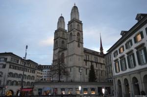 Zurigo, Cattedrale Grossmunster